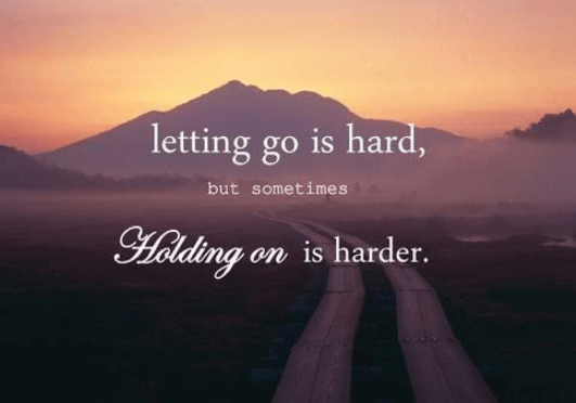 letting go of your soulmate